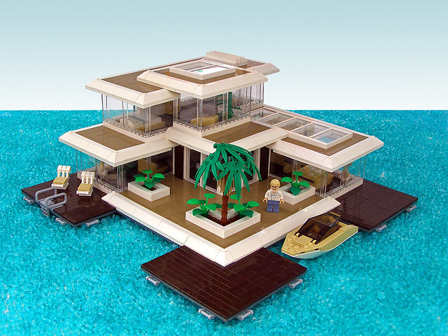 Floating paradise 01 flickr photo sharing for How to build a beach house