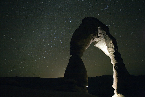 Delicate Arch Under The Stars