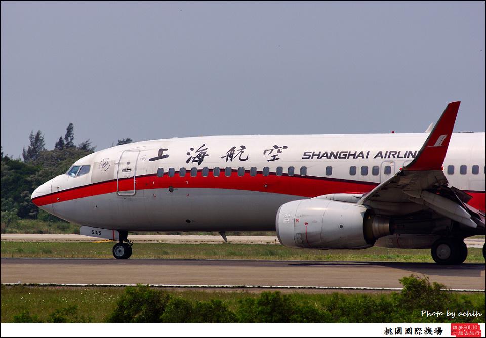 上海航空B-5315客機001