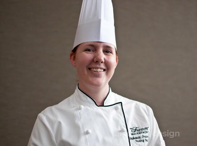 Pastry chef Stephanie Greenslade