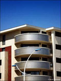 Immeuble moderne à Canet en front de mer