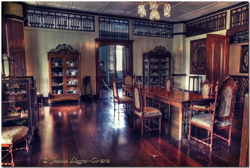 """The Balay"" - Main dining room."