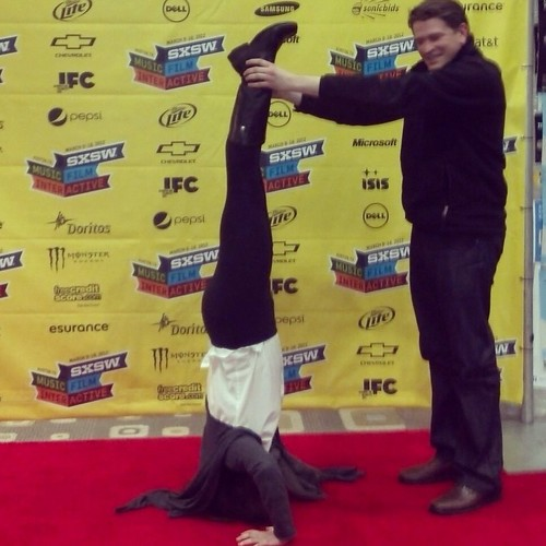 Headstand at SXSW