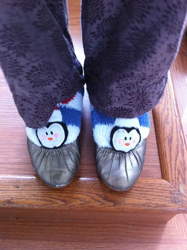 Happy Feet? Goody Two Shoes?