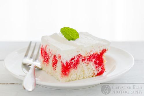 Strawberry Jello Cake Recipe From Scratch: Raspberry Poke Cake, From Scratch