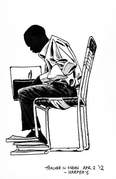 sudan sketch