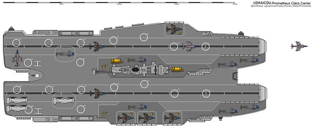 Trimaran Aircraft Carrier http://www.flickr.com/photos/76387507@N06/7054295251/