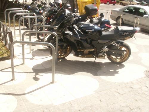 Aparcamiento para Bicicletas edificio Ministerios.