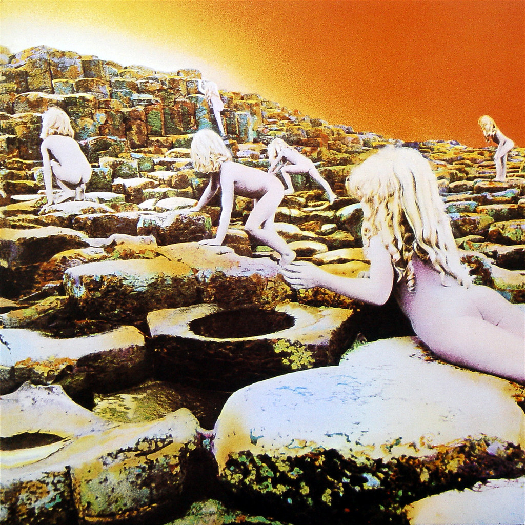 Houses Of The Holy Lp Cover Art