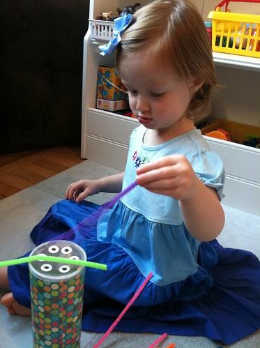 Montessori work from Grammie