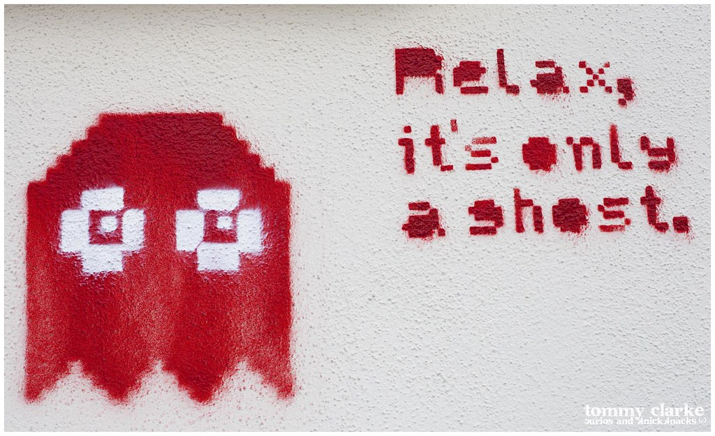 Relax...it's only a ghost (red)
