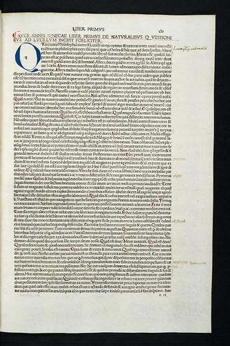 Annotations in Seneca, Lucius Annaeus: Opera philosophica