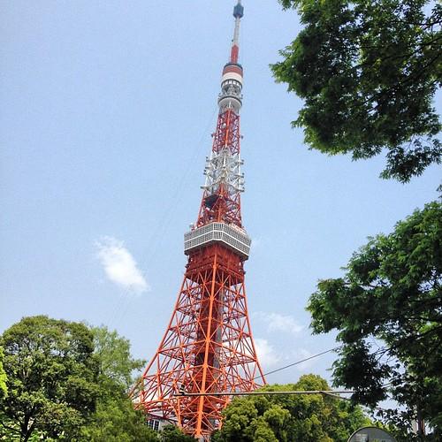 Tokyo Tower #tokyo #tokio #japan #japon