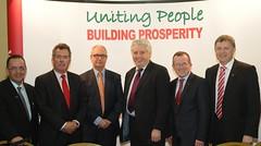 Building prosperity across our island