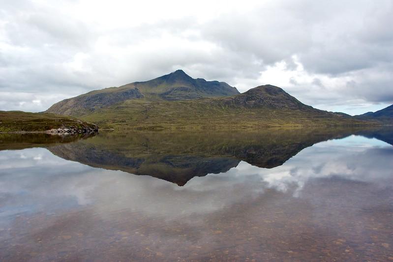 Slioch above Lochan Fada