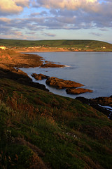 Croyde Bay from Baggy Point path