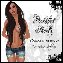 [IF] {Shorts} Pocketed - [Tide] Ad