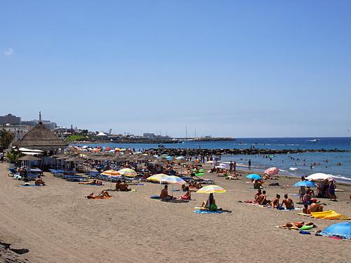 Playa Fañabe, Costa Adeje, Tenerife