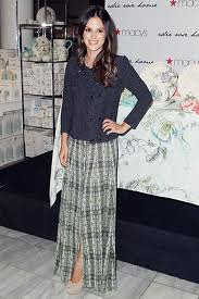 Rachel Bilson Maxi Skirt Celebrity Style Women's Fashion