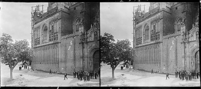 Monasterio de San Juan de los Reyes en junio de 1927. Fotografía de Albert Oliveras i Folch. © Arxiu Fotogràfic de Catalunya. Centre Excursionista de Catalunya