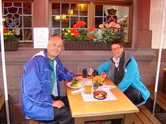 Mittagessen in Miltenberg