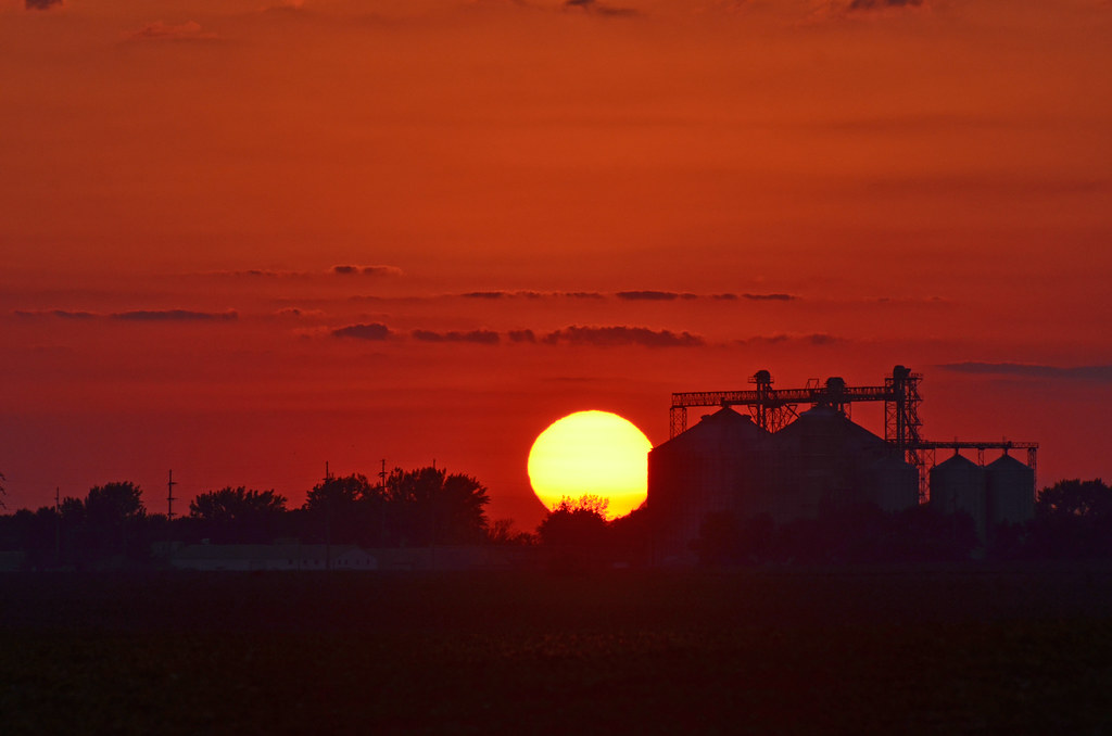 Rural Sunset - Wells, MN