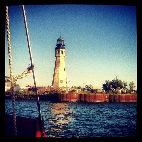 Buffalo lighthouse #spiritofbuffalo #summer