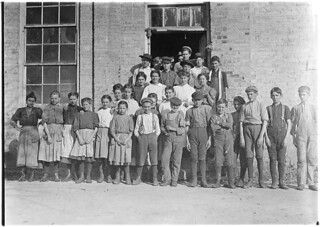 A few of the workers in Cherryville Mfg. Co. Cherryville, N.C, November 1908