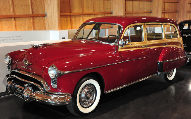 1950 oldsmobile futuramic 4 door station wagon flickr for 1950 oldsmobile 4 door