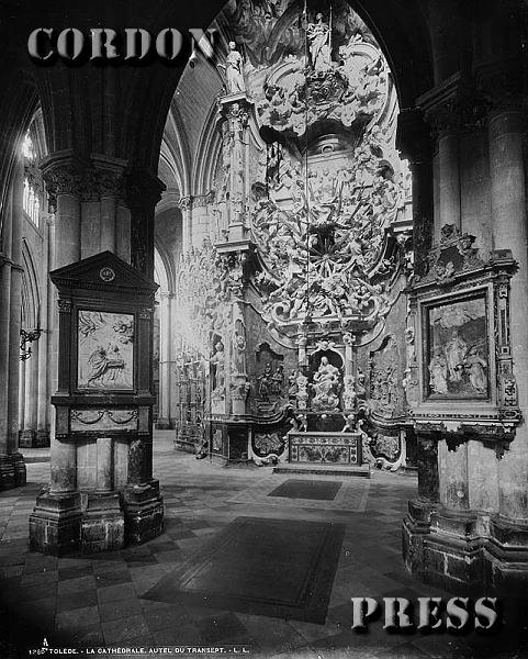 Transparente de la Catedral de Toledo hacia 1875-80. © Léon et Lévy / Cordon Press - Roger-Viollet