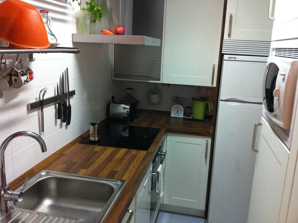 una cocina completa en 4 metros cuadrados