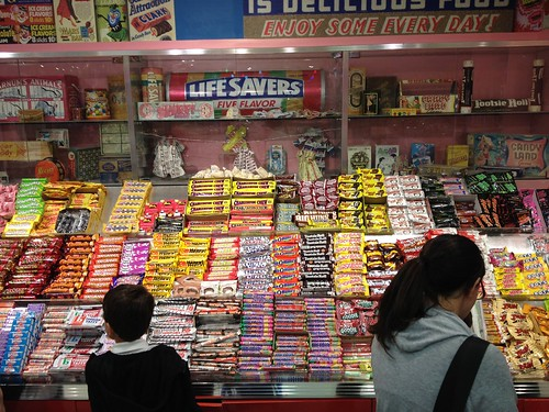 Wall of Candy Bars