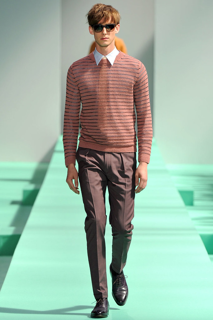 Elias Cafmeyer3084_SS13 Paris Paul Smith(VOGUE)