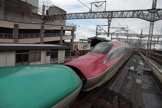 試運転(回送) E5系+E6系@大宮駅