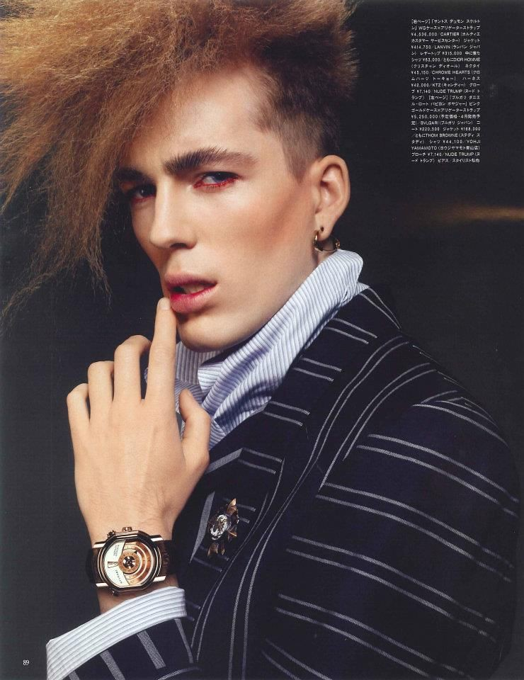 Milo Spijkers0029_VOGUE HOMMES JAPAN SS12(LOOP Management facebook)