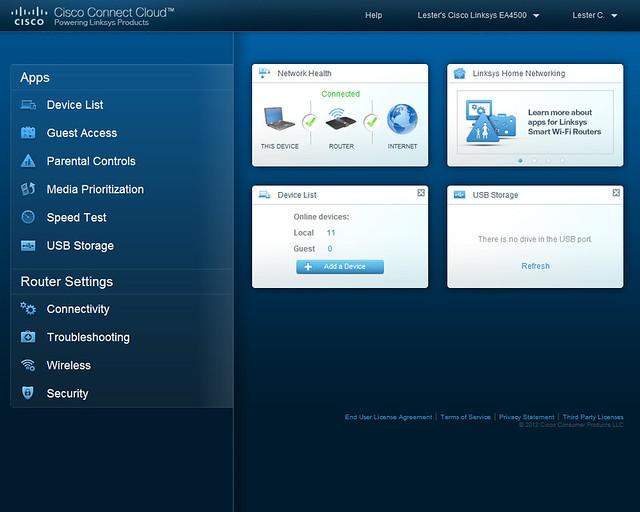 Cisco Connect Cloud - Home