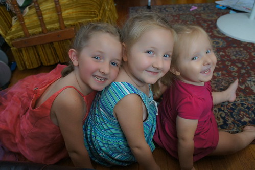 Lauren, Martha and Evie