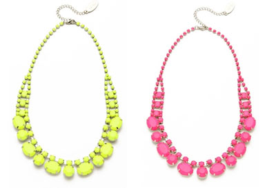 Trend to try: Bright Coloured Jewellery