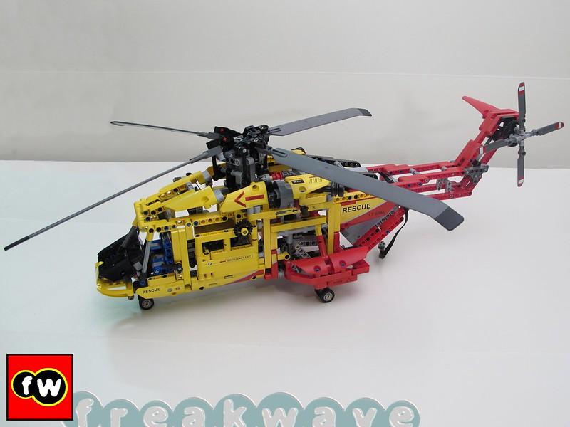 Elicottero Dat3 : Lego technic elicottero review