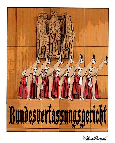 BUNDESVERFASSUNGSGERICHT by Colonel Flick