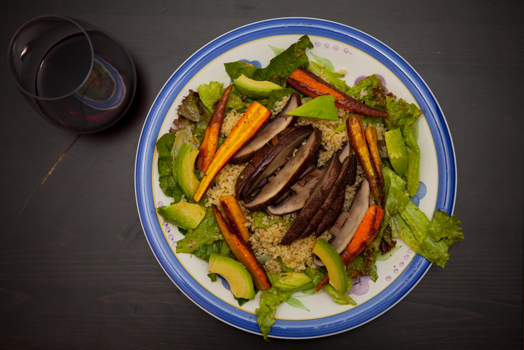 Portabella Mushroom Salad