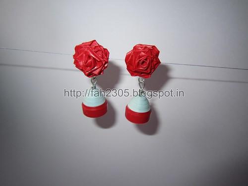 Handmade Jewelry - Paper Jhumka (2) by fah2305
