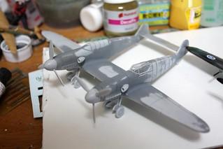 "A-Model ""72217 Bf109Z"" -5"