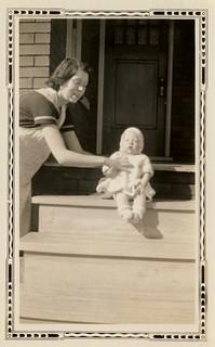 Glynn and Aunt Gena