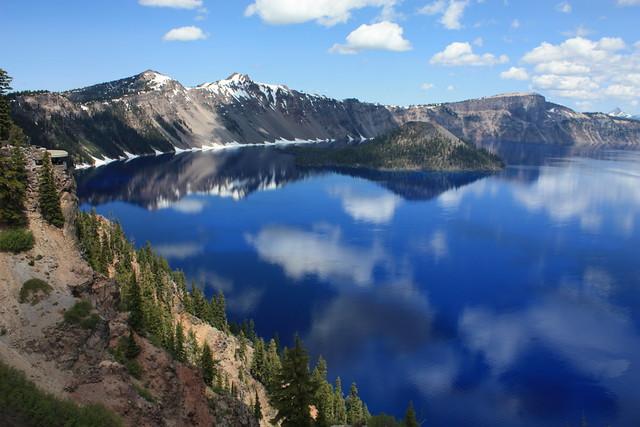 Sinnott Memorial Lookout, Crater Lake National Park