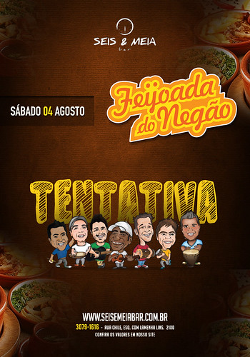 Flyer - Feijoada by chambe.com.br