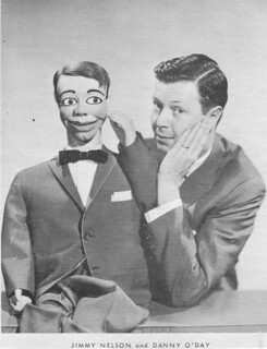 Ventriloquist Jimmy Nelson and Danny O'Day 1950's