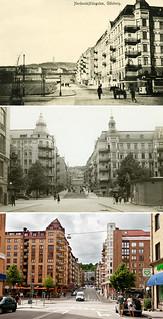 Gothenburg, Linnestaden 1900 / 1964 / 2012