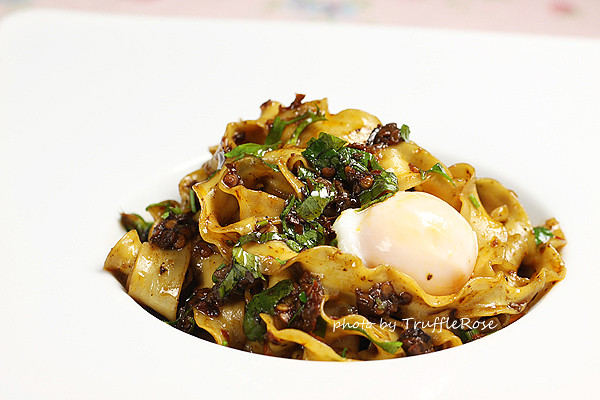 芹菜葉拌麵-120720