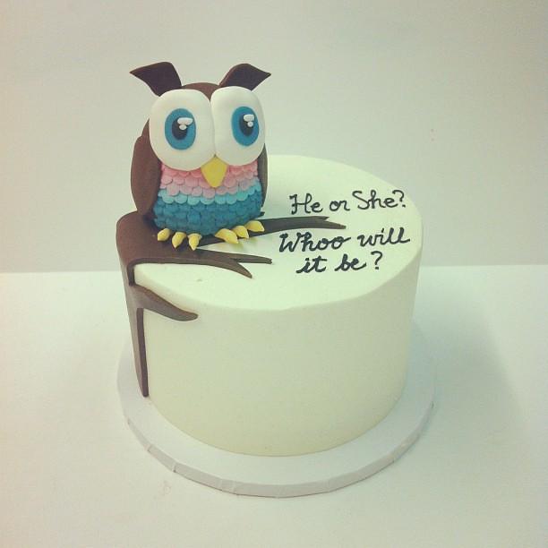Gender Reveal Cake Austin